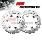 280MM Front Brake Disc Rotor 2pcs For KAWASAKI Z 750 TURBO 1984-1986