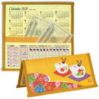 Japanese Gold Mouse Rice Paper Wallet Calendar 2020 New Year of RAT Zodiac ETO