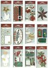 CHRISTMAS Paper Bliss PICK Angel Dove Peace Poinsettia Trees Flowers Glitz