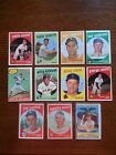 LOT OF (43) DIFFERENT 1959 TOPPS BASEBALL CARDS,