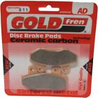 Front Disc Brake Pads for CCM C-XR 125-S 2008 125cc  By GOLDfren