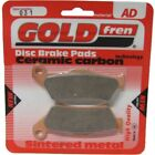 Front Disc Brake Pads for Husaberg FC 550 2005 550cc  By GOLDfren