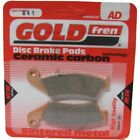 Front Disc Brake Pads for Honda XLR125R 2001 124cc  By GOLDfren