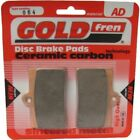 Front Disc Brake Pads for Laverda 750 Ghost Strike 1998 750cc By GOLD