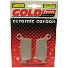 Front Disc Brake Pads for Kymco Top Boy 50 2004 50cc  By GOLDfren