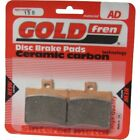 Rear Disc Brake Pads for Malaguti F18 Warrior 125 2000 125cc  By GOLDfren