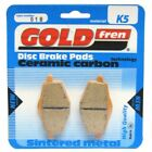Front Disc Brake Pads for MBK XC 125 Flame 1999 125cc  By GOLDfren