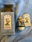 Midwest Disney Classic Pooh of the Month Calender July Porcelain Hinge Box MIB