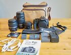 Canon Rebel XTI EOS 400D w 3 lenses + accessories