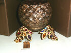 JAY STRONGWATER  Swarovski Tessa GOLDEN Bejeweled Tealight NIB Retail $325