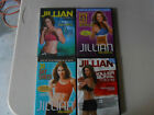 Jillian Michaels workout DVD LOT Kickbox Shred Banish Fat Killer Buns Thighs