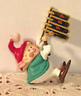 1989 HALLMARK CHRISTMAS ORNAMENT HARK! IT'S HERALD * 1ST IN SERIES #QX4555