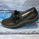 Sperry Topsiders Mens Tarpon 2 Eye Boat Shoes Brown Leather Size 13M STS11735