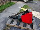Hydraulic breaker hammer excavator backhoe Wain Roy quick attach 1 3 4 pin