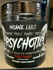 Insane Labz Psychotic BLACK Pre Workout 35 Servings Pick Flavor Factory Sealed