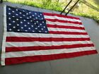 LARGE AMERICAN FLAG 5x8 BULLDOG 100 COTTON BUNTING BY ANNIN EXCELLENT COND