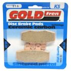 Front Disc Brake Pads for Moto Morini 350 Kanguro 1988 344cc  By GOLDfren