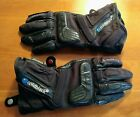 Held Quattrotempi Gore Tex Motorcycle Gloves size 9L Black Like New