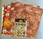Scrapbook Basketball PackPaper and StickersNIP