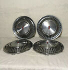 71 72 Oldsmobile Olds Toronado 15 OEM Chrome Wheel Covers Hub Caps NICE Set 4
