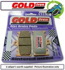 New Derbi GPR 125 Racing 2T 05 125cc Goldfren S33 Front Brake Pads 1Set