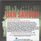 DAN SARTAIN Atheist Funeral CD 2 Track Promo With Info Stickered Card Sleeve B