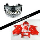 Fairing Set Kit + Headlight For Kawasaki 2008 09 10 11 2012 Ninja250R Red