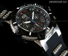 NEW Invicta Men's 50mm Bolt Swiss Ronda Z60 Chronograph Stainless Steel Watch !!