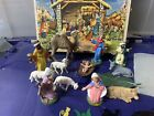 Gorgeous Antique Kurt S Adler 12 Piece Nativity Scene Num 28 OG BOX