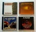 FU MANCHU - 4 CD LOT -  ORIGINAL PRESSINGS!  VERY RARE!