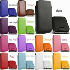 2 PU Leather bag case PULL UP TAB Cord Pouch Cell Phone Accessory For Cellphone