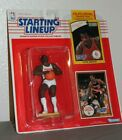 1990 Clyde Drexler Portland Trailblazers Starting Lineup figure with two cards!
