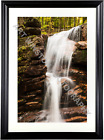 Photography Wall Art Print Fall at Flume Gorge Archival Quality Matte Paper
