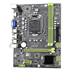 Motherboard CPU LGA 1155 Dual Channels For Intel H61 Socket Computer Replacement