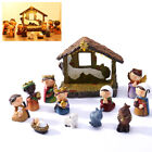 Large Christmas LED Light up Nativity Scene Set Battery Operated Decoration US