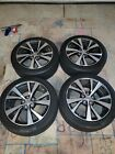 Nissan Maxima OEM Wheel Rims Continental Procontact Tire 245 45 18 Factory Set 4