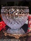 FANTASTIC HUGE Crystal Glass 8Tx10W Bowl CAPTURES ALL COLORS OF RAINBOW WOW