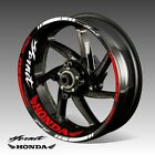 HONDA HORNET wheel decals tape stickers CB 600F CB600FA 250 900 17 rim stripes