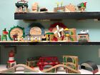 Sheds, Bridges, Tunnels, Crane, Windmill - THOMAS & FRIENDS TRAIN WOODEN RAILWAY