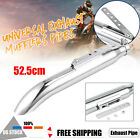 20 Universal Motorcycle Exhaust Muffler Pipe Silencer For Harley Cafe Racer
