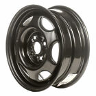 60165 Reconditioned OEM Steel Wheel 14x55 Black Painted