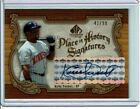 Kirby Puckett 2006 UD SP Legendary Cuts Place In History Autograph Auto #41 99