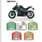 For kawasaki Z1000 STEREO PASTERS RIM STRIPES MOTORCYCLE WHEEL DECALS TAPE