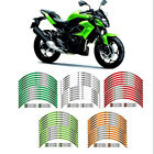 For kawasaki Z250 Z 250 RIM STRIPES STEREO PASTERS MOTORCYCLE WHEEL DECALS TAPE