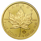 2020 Canada 1 oz Gold Maple Leaf $50 Coin GEM BU