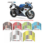 For SUZUKI GSX-R GSXR 600/750/1000 STICKERS STEREO RIM STRIPES WHEEL DECALS TAPE