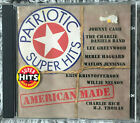 Patriotic Super Hits - American Made CD - Country Cash Nelson Haggard Daniels