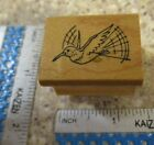 FLYING BIRD MW RUBBER STAMP ART IMPRESSIONS
