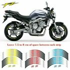 Rim Stripes Wheel Decals Tape Stickers For YAMAHA FZ 1/6/07/09/10/16/600/700/750