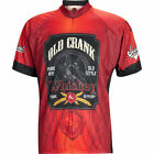 World Jerseys Old Crank Whiskey Mens Cycling Jersey Brown Black XL